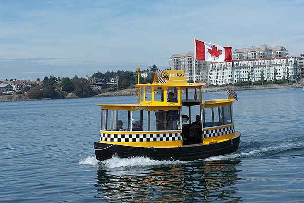 Wassertaxi Vancouver Island