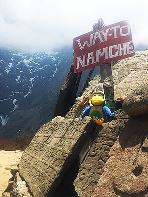 The Way to Namche