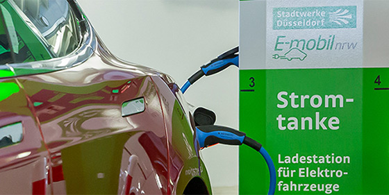 Electric filling station / E-Mobility